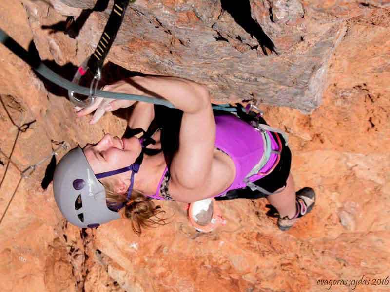 Kalymnos rock climbing course