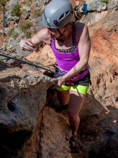 Kalymnos rock climbing