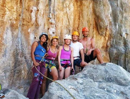 Kalymnos beginners climbing course