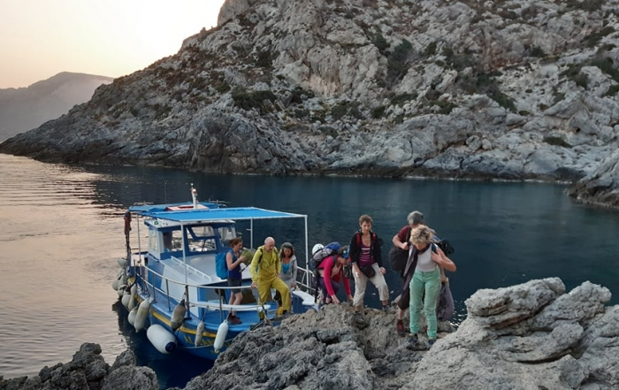 kalymnos intermediate climbing course